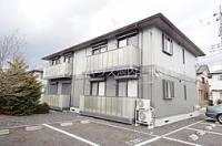 ソレジオタウン西川田 C棟[101号室]の外観