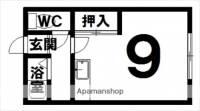 コーポナカヤマ[7号室]の間取り
