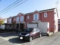 山形県寒河江市新山町の賃貸アパートの外観