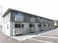 福島県郡山市富田町字若木下の賃貸アパートの外観