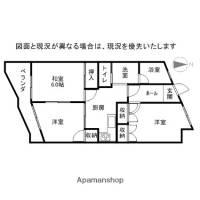中島マンション[105号室]の間取り