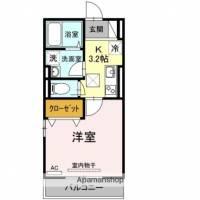 D−ROOM新川崎[1階]の間取り