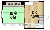 山本マンション[301号室]の間取り
