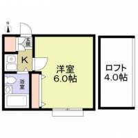 アメニティ東戸塚[102号室]の間取り