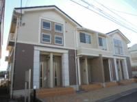 神奈川県平塚市田村9丁目の賃貸アパートの外観