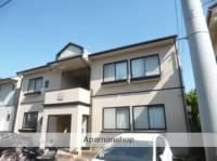 新潟県新潟市中央区信濃町の賃貸アパートの外観