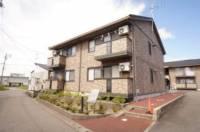 新潟県新潟市秋葉区程島の賃貸アパートの外観