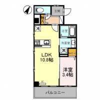 グランアネシス金澤[5階]の間取り