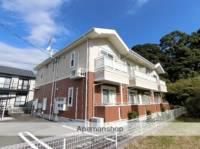 静岡県菊川市柳2丁目の賃貸アパートの外観