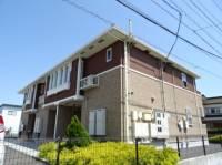 静岡県島田市大柳の賃貸アパートの外観