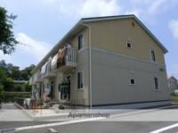 静岡県磐田市富丘の賃貸アパートの外観