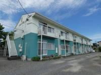 静岡県牧之原市静波の賃貸アパートの外観