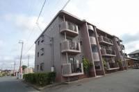 静岡県袋井市堀越3丁目の賃貸マンションの外観