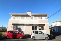 静岡県掛川市下垂木の賃貸アパートの外観