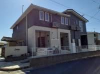静岡県掛川市上張の賃貸アパートの外観