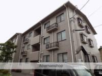 愛知県北名古屋市九之坪竹田の賃貸マンションの外観
