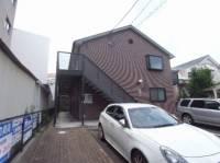 愛知県名古屋市中川区尾頭橋2丁目の賃貸アパートの外観