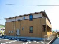 三重県伊賀市三田の賃貸アパートの外観