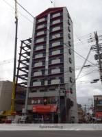 ステイト阿倍野[4階]の外観