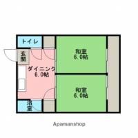 ユウエイマンションⅠ[305号室]の間取り