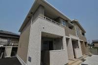 徳島県吉野川市鴨島町飯尾の賃貸アパートの外観