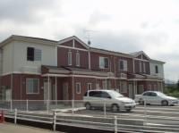 愛媛県新居浜市本郷1丁目の賃貸アパートの外観