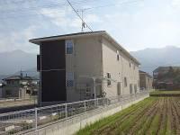 愛媛県新居浜市横水町の賃貸アパートの外観
