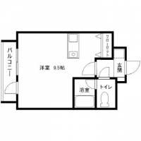 シャトー'01[4階]の間取り