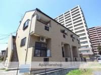 熊本県熊本市中央区九品寺6丁目の賃貸アパートの外観