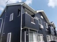 鹿児島県南さつま市加世田東本町の賃貸アパートの外観