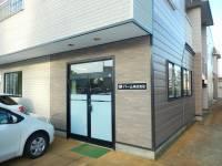 秋田県大仙市大曲日の出町1の賃貸アパートの外観