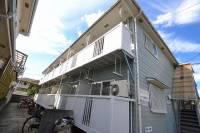 広島県安芸郡府中町石井城1の賃貸アパートの外観