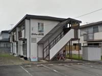 山形県山形市西田1の賃貸アパートの外観