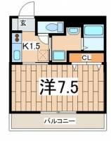 マ・メゾン大倉山[307号室]の間取り