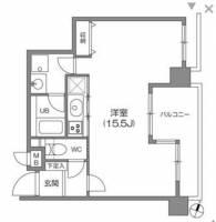 白金台アパートメント[5階]の間取り