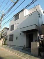 東京都目黒区目黒1丁目の賃貸マンションの外観