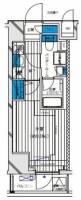 メインステージ八王子TokyoWest[3階]の間取り