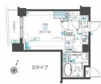 フェニックス西蒲田[2階]の間取り