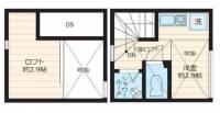 Blanc et Bleu高円寺(ブランエトブルー)[2階]の間取り