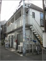東京都新宿区北新宿3丁目の賃貸アパートの外観