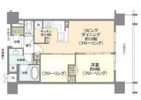 シティハウス横濱野毛山公園[11階]の間取り