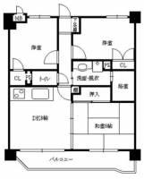 三愛シティライフ箱崎12[302号室]の間取り