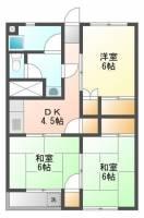 舞松原ビル[6階]の間取り