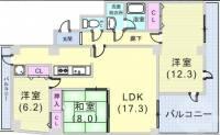 サンコート阪急六甲[2階]の間取り