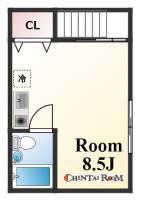 ビワハウス[3階]の間取り