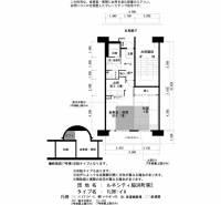 ルネシティ脇浜町第2[7-702号室]の間取り
