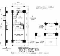 HAT神戸・脇の浜[17-207号室]の間取り