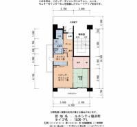 ルネシティ脇浜町[4-407号室]の間取り