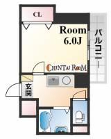 サンロイヤル八幡[4階]の間取り