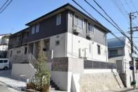 兵庫県神戸市東灘区御影山手3丁目の賃貸アパートの外観